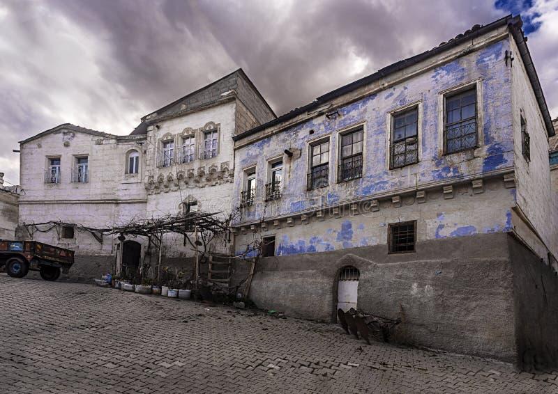 Villaggio di NevÅŸehir Urgup Sinasos Mustafa Pasha immagini stock
