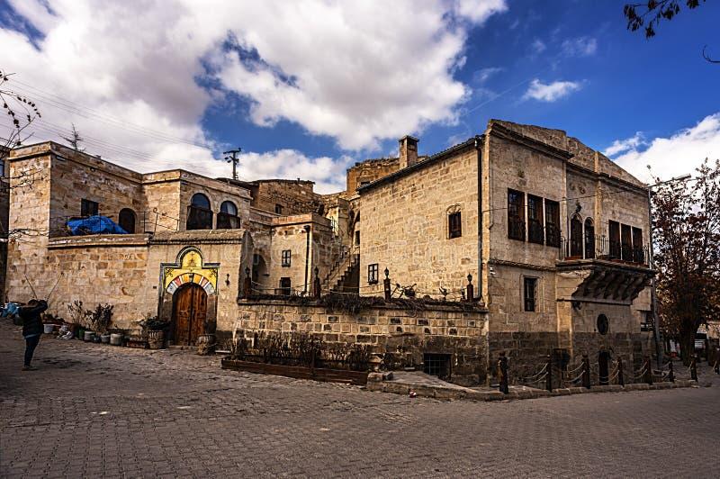 Villaggio di NevÅŸehir Urgup Sinasos Mustafa Pasha fotografia stock