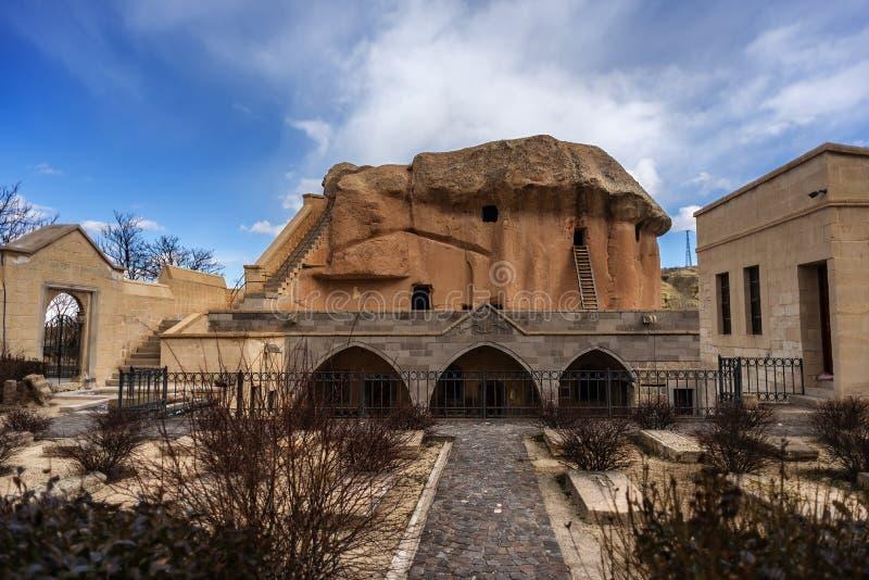 Villaggio di NevÅŸehir Urgup Sinasos Mustafa Pasha fotografie stock libere da diritti