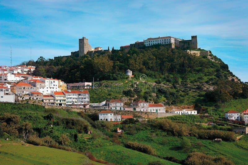 Villaggio di Palmela immagine stock