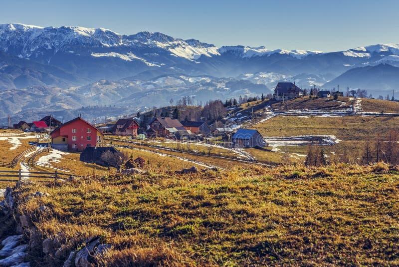 Villaggio di Pestera, Romania fotografie stock libere da diritti