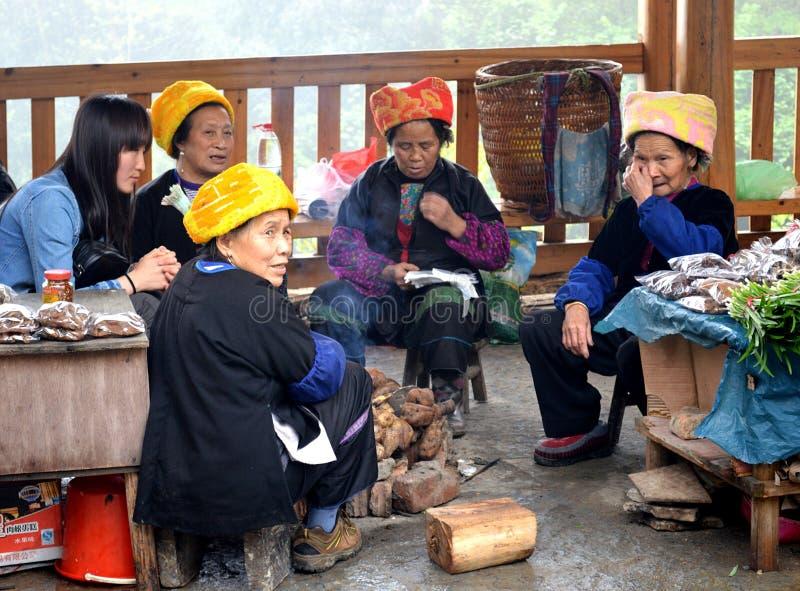 Villaggio di Ping'An fotografia stock libera da diritti