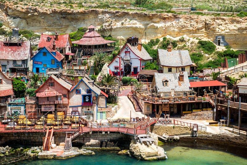 Villaggio di Popeye immagine stock libera da diritti
