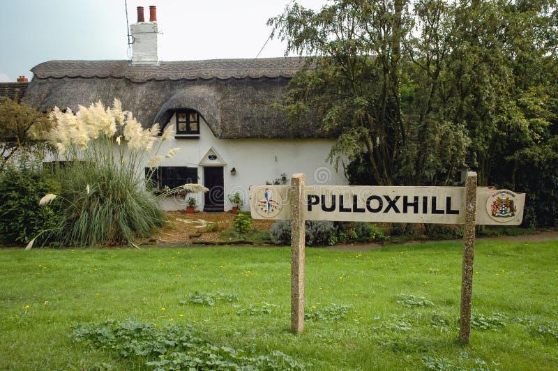 Villaggio di Pulloxhill nel Regno Unito immagini stock libere da diritti