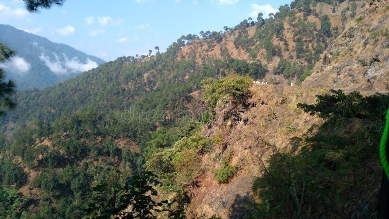 Villaggio di Swala, Champawat, Uttarakhand immagini stock libere da diritti