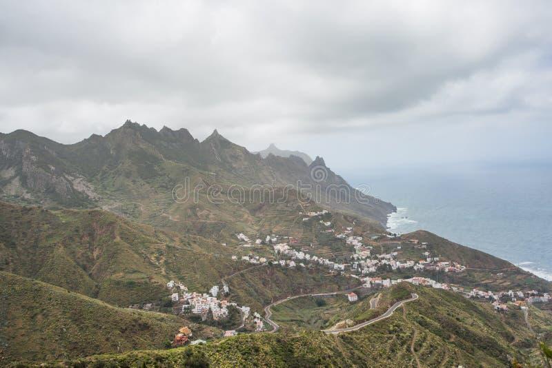 Villaggio di Taganana, Tenerife fotografie stock libere da diritti