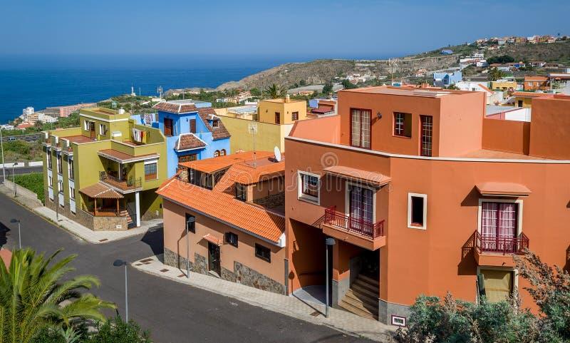 Villaggio di Typucal Canarie fotografie stock libere da diritti