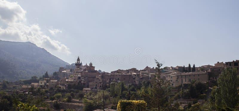 Villaggio di Valldemossa in Mallorca fotografia stock libera da diritti