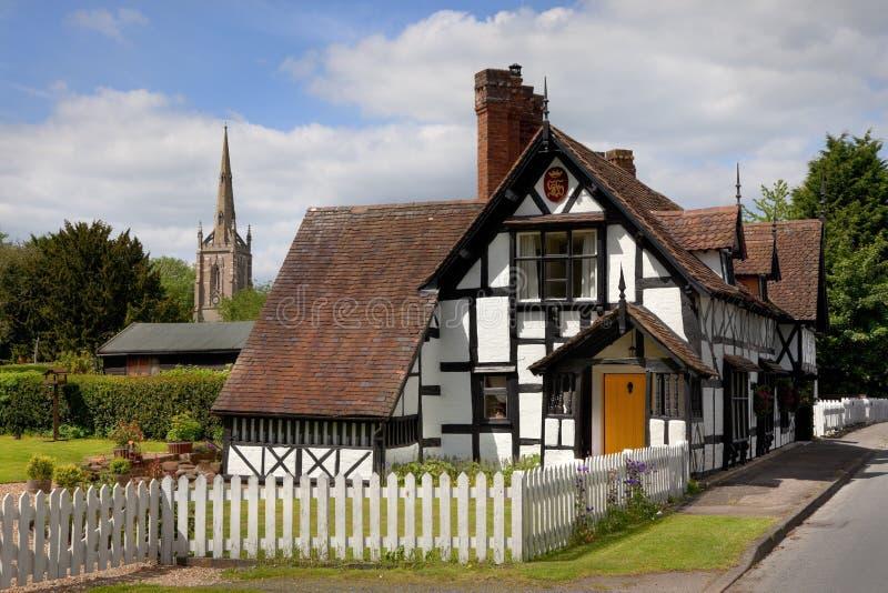 Villaggio di Worcestershire fotografia stock libera da diritti