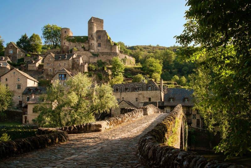 Villaggio in Francia immagine stock