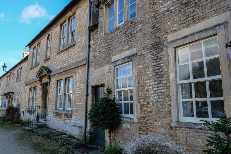 Villaggio inglese tradizionale immagine stock
