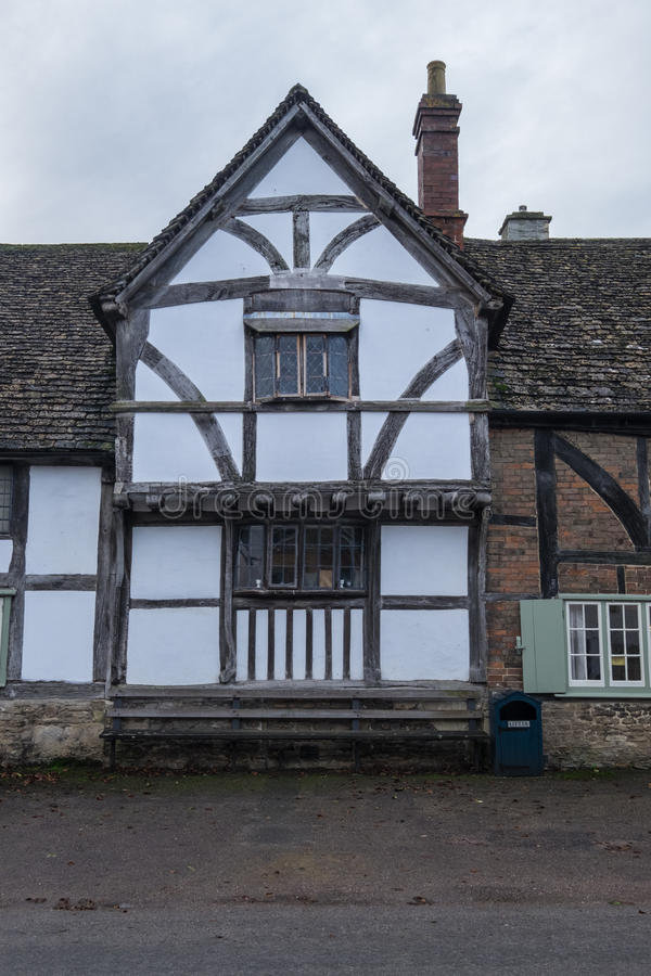 Villaggio inglese tradizionale fotografia stock libera da diritti