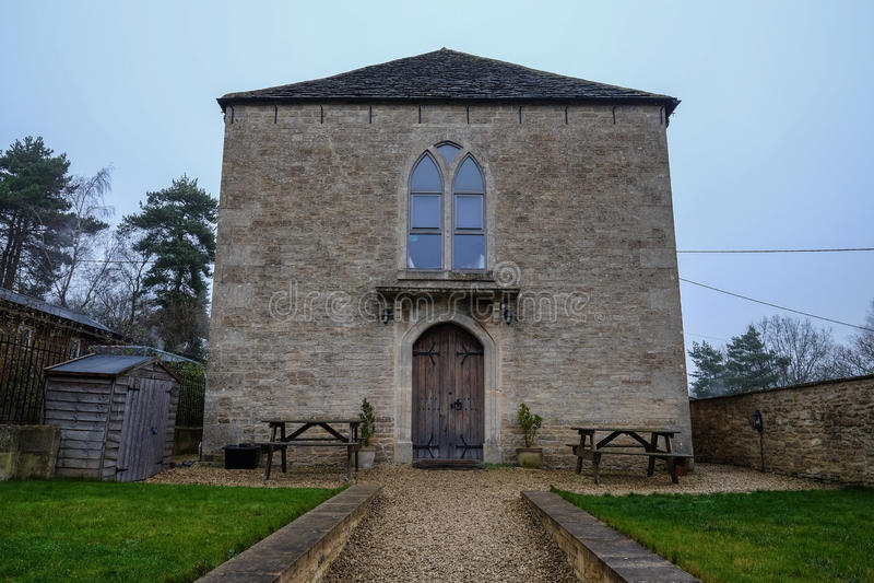 Villaggio inglese tradizionale fotografie stock