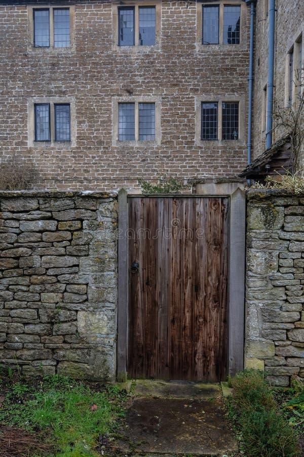 Villaggio inglese tradizionale fotografia stock