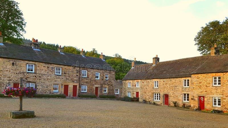 Villaggio medievale di Blanchland immagini stock libere da diritti