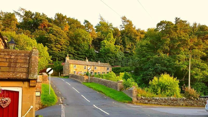 Villaggio medievale di Blanchland fotografia stock
