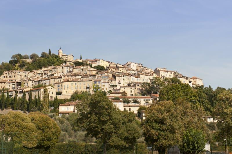 Villaggio medioevale di Fayence immagine stock libera da diritti