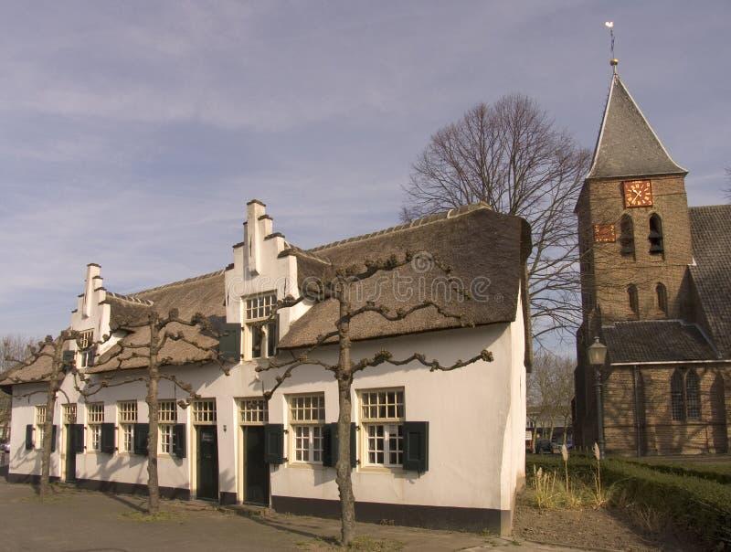 Villaggio olandese immagini stock