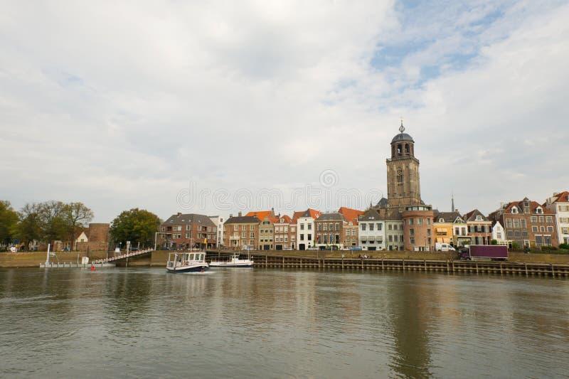 Villaggio olandese Deventer immagine stock