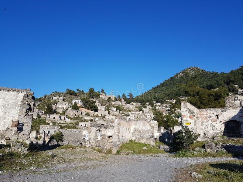 Villaggio perso Karaköy fotografia stock libera da diritti