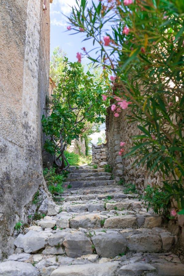 Villaggio in Provenza immagine stock libera da diritti