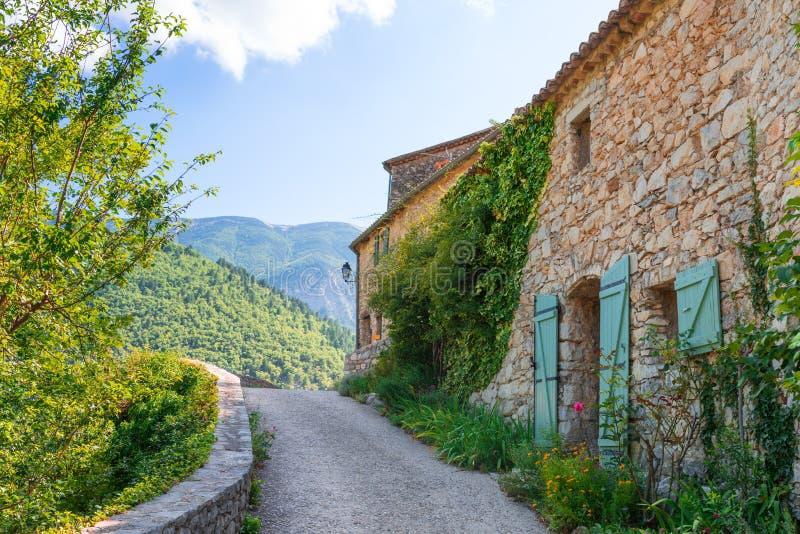 Villaggio in Provenza immagini stock libere da diritti