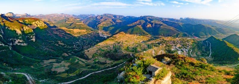 Villaggio storico e culturale cinese -- Wang Nao fotografia stock