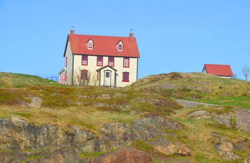 Villaggio tipico del pescatore fotografie stock libere da diritti