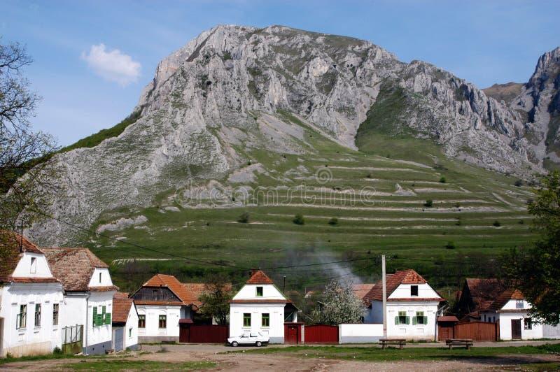 Villaggio ungherese Rametea (Torocko), Romania fotografia stock libera da diritti