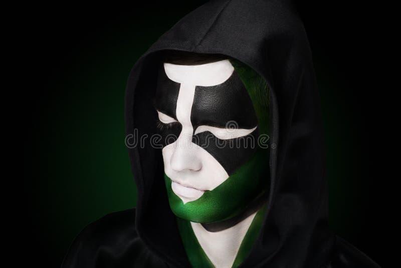 Villain character from comics stock photos