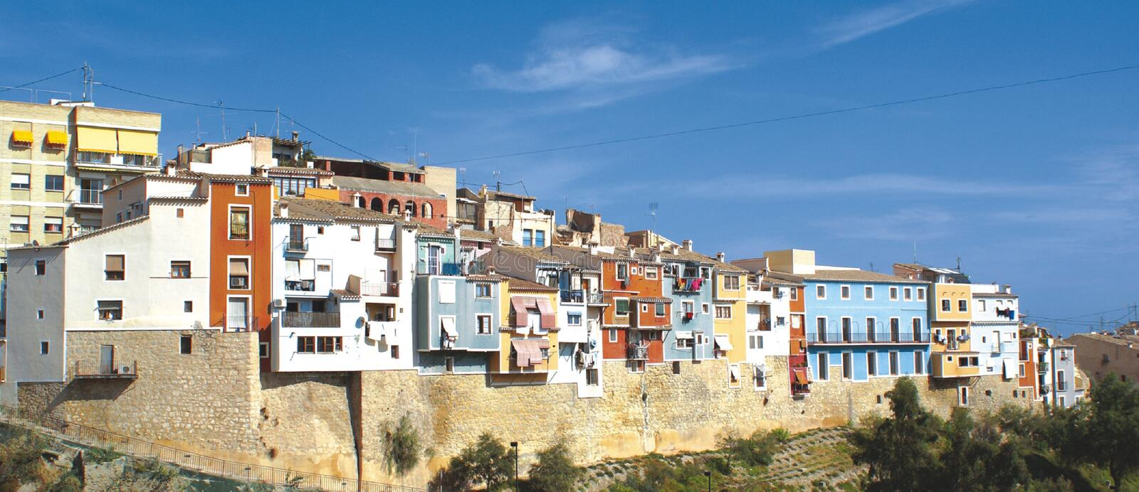Download Villajoyosa Fishing Town stock image. Image of destinations - 28467237