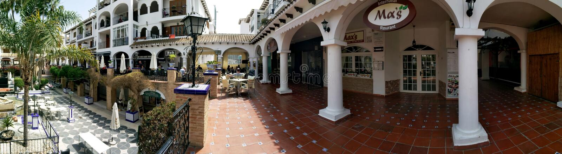 Villamartin plac, Hiszpania zdjęcia royalty free