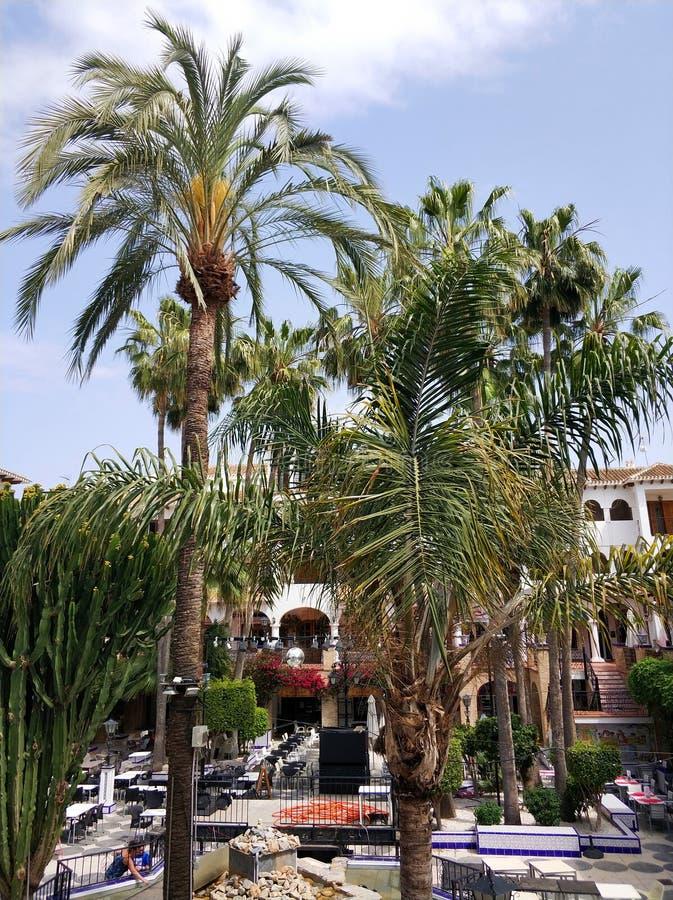 Villamartin plac, Hiszpania zdjęcia stock