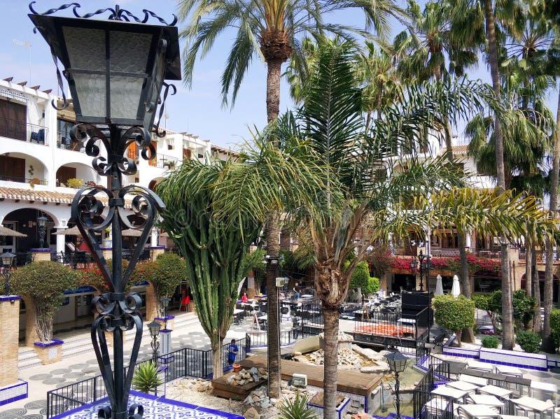 Villamartin plac, Hiszpania zdjęcie royalty free