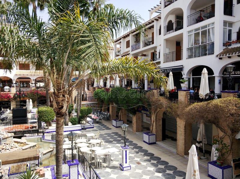 Villamartinplein, Spanje stock afbeeldingen