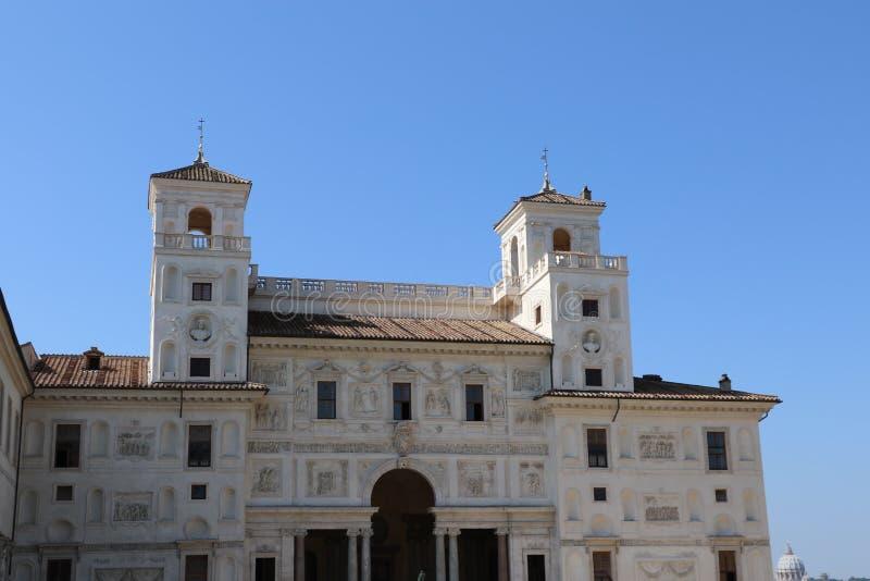 Villan Medici royaltyfri fotografi