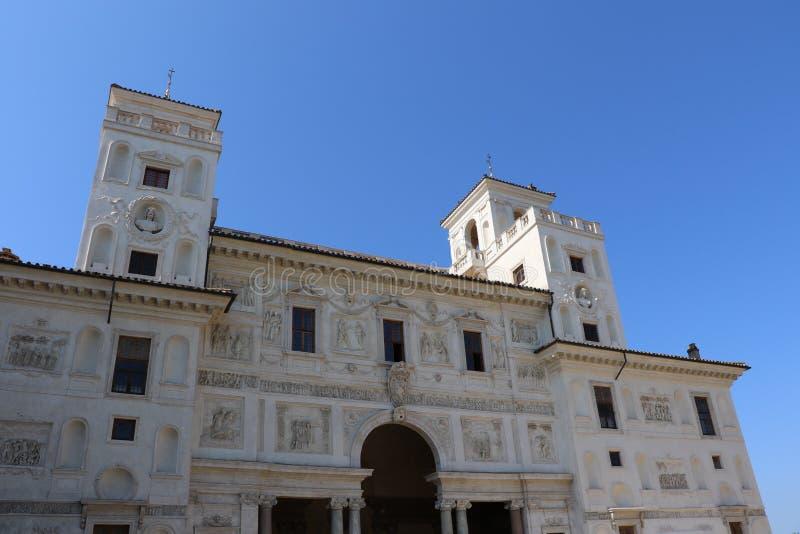Villan Medici arkivbild