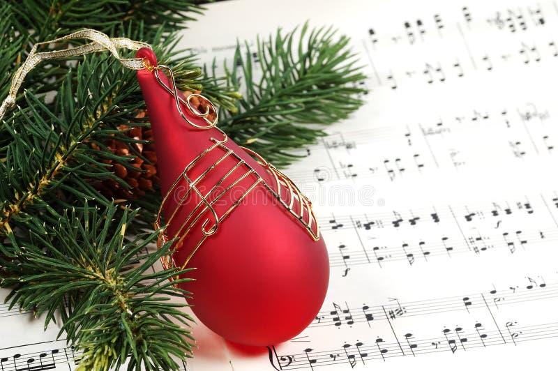 Villancico de la Navidad fotografía de archivo