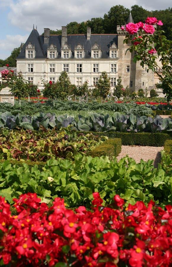 Villandry Castle, France Stock Photos