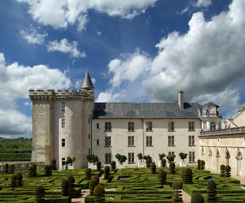 Download Villandry Chateau, Loire Valley, France Stock Photo - Image: 25304700