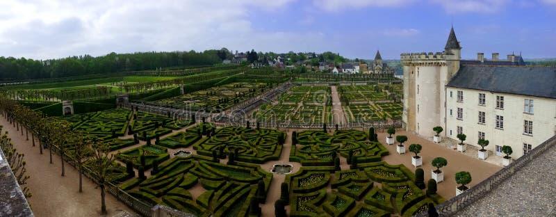 Villandry, Loire dolina, Francja obrazy royalty free