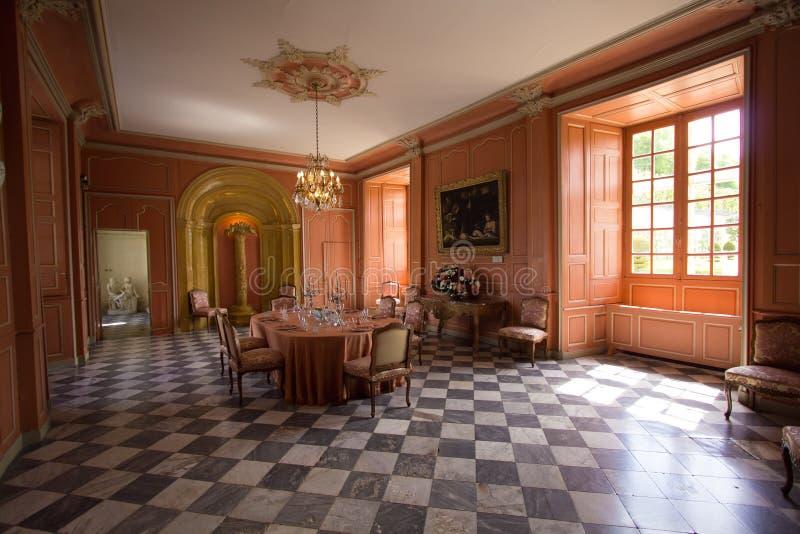 Villandry-Schlossansicht stockfoto