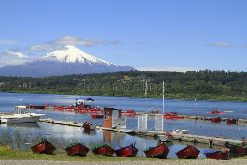 Download Villarica Chile fotografia editorial. Obraz złożonej z chmury - 57673337