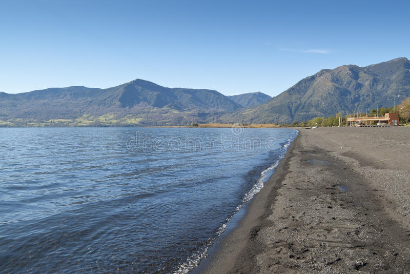 villarrica λιμνών της Χιλής pucon στοκ φωτογραφίες