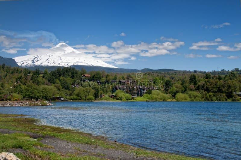 villarrica volcan стоковые фотографии rf