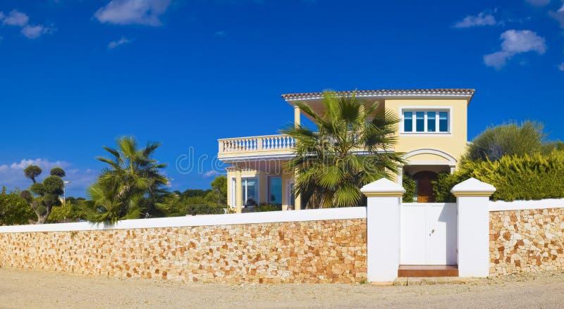 Villas de vacances photographie stock