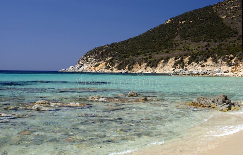 Sardinia.Villasimius stock image