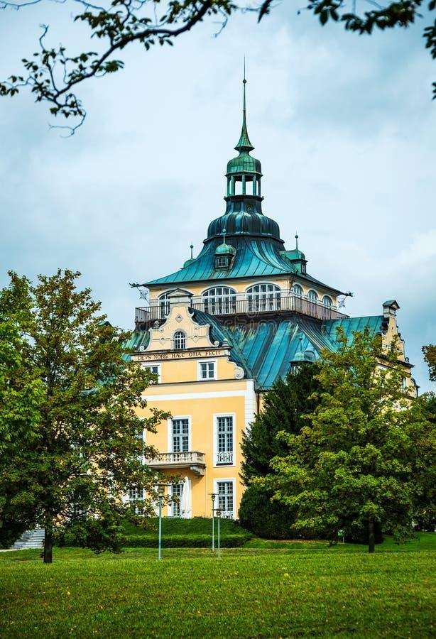 VillaToscana kongress i Gmunden, Österrike fotografering för bildbyråer