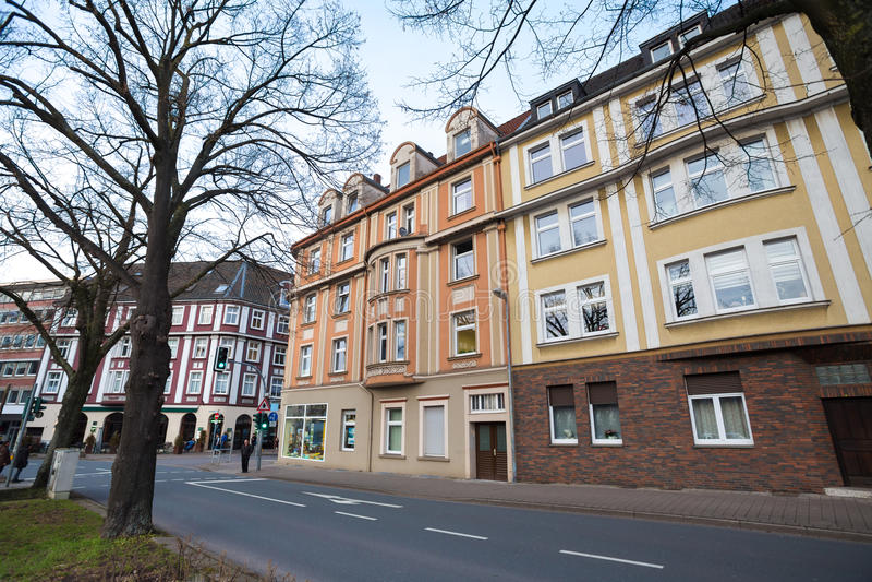 ville Allemagne de Herne images stock