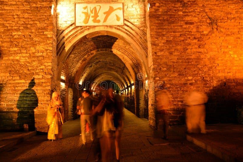Ville antique de Dali images libres de droits